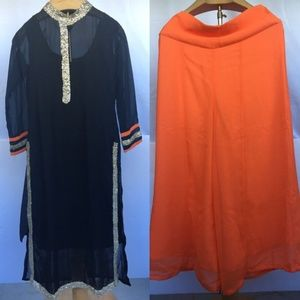 Bollywood style Indian ethnic party dress